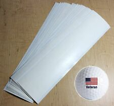 10 GOLF CLUB GRIP TAPE STRIPS Double Sided Pre-Cut Regriping