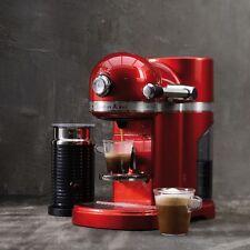 Kitchenaid artisan 5kes0504eer nespresso-sistema Empire rojo incl. aeroccino nuevo
