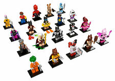 LEGO BATMAN MOVIE Minifigures 71017 - Komplettsatz. Alle 20 Figuren!