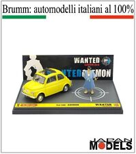 FIAT 500 GOEMON Lupin The 3rd 055/100 Limited L03 Brumm 1/43 New Nuovo New