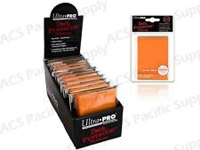 600 ULTRA PRO ORANGE DECK PROTECTORS SLEEVES Standard MTG Colors Lot
