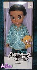"Disney Animators' Collection 16"" Toddler Doll Princess Jasmine NEW!"