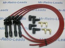 RED 8MM PERFORMANCE IGNITION LEAD KIT C20XE 2.0 VAUXHALL ASTRA CAVALIER RACING
