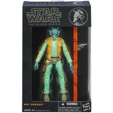 "Star Wars Black Series 6"" Inch Figure #07 Greedo Authentic Hasbro NEW FR"