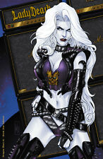 "Lady Death Dragon Wars #1 ""Rock Star""  Ltd. Ed. 99 Signed Comic Book with Cert."