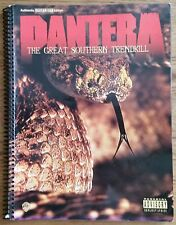 PANTERA THE GREAT SOUTHERN TRENDKILL GUITAR TAB TABLATURE SONGBOOK
