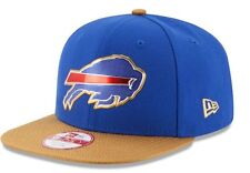 BUFFALO BILLS 2016 NFL NEW ERA 9FIFTY GOLD COLLECTION SNAPBACK HAT CAP