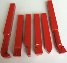 CARBIDE BRAZED TOOLS 12MM SET LATHE TOOL SET BORING BAR PARTING TOOL X6 PIECES