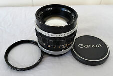 CANON FL MOUNT 50mm F/1.4 MF SLR FASTEST PRIME LENS RARE 58 MM FILTER WORKING