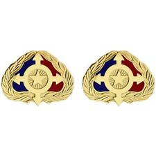 USA  Army Unit Crest Individual Ready Reserve     1 PAIR     NEW (USA Issue)