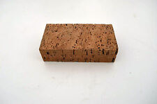 Shoemakers Leather Craft Workers Natural Cork Anvil or Rubbing Block