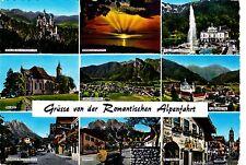 Grüsse von der Romantischen Alpenfahrt ,Ansichtskarte, ungelaufen