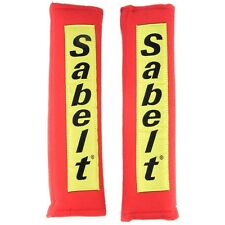 Sabelt Harness Pads Red For Seat belt For Kit Car, Rally, Track