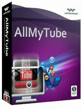 Wondershare AllMyTube 4.9 Windows lifetime Vollversion ESD Download !