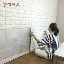 3D Brick Waterproof Wall Sticker Self-adhesive Panels Decal Wallpaper 60*60cm