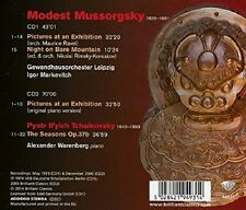 PICTURES AT AN EXHIBITION-  MUSSORGSKY,MODEST PETER  2 CD NEU