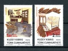 Turkish Northern Cyprus 2016 MNH Ethnographic Objects 2v Set Artefacts Stamps