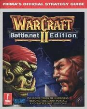 WarCraft II Battle.net Edition: Prima's Official Strategy Guide. by Prima, Good