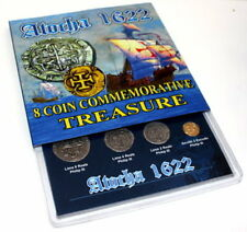ATOCHA 1622 SHIPWRECK 8 COIN COMMEMORATIVE SET POTOSI MEXICO MINT KEY WEST