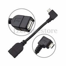 CABLE USB HEMBRA ADAPTADOR ADAPTER A MICRO USB MACHO ANGULO RECTO 90°HOST OTG