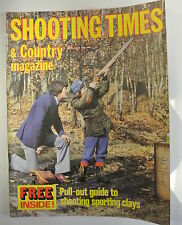 Shooting Times & Country Magazine. April 9-15, 1981. Shooting Sporting Clays.