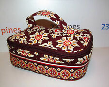 VERA BRADLEY RETIRED MEDALLION SMALL JEWELRY CASE POUCH VERY RARE! NWOT!