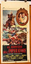 Magali Noel Roberto Risso AL SERVIZIO DELL'IMPERATORE locandina originale 1958