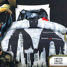 Batman v. Superman - Demon - Single/US Twin Bed Quilt Doona Duvet Cover Set