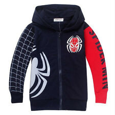 Boy Girls Kids Marvel Superhero Sweatshirt Hoodie Clothes Fancy Jacket Coat Tops