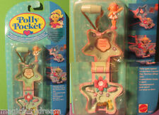 Polly Pocket Mini NEU ♥ Stern Kettchen ♥ Fairy Garden Locket ♥ OVP ♥1992 ♥ NEW ♥