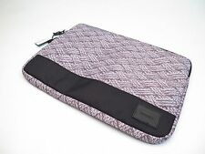 "NIXON GRAY PADDED LAPTOP TABLET SLEEVE IPAD 15"" DIAGONAL SIZE *NEW*"