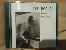 THE POGUES -FAIRYTALE OF NEW YORK -3 TRACK CD SINGLE - 1987 ORIGINAL VERY RARE