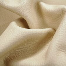 90 sf Cream Off white Italian Leather Cow Hide Skin Furniture e5GD E