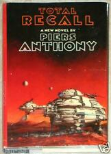 TOTAL RECALL ~ A NOVEL ~ PIERS ANTHONY ~ FIRST PRINTING ~ HC
