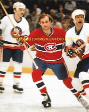 GUY LAFLEUR Breaks Thru Islanders DEFENSE 8x10 MONTREAL CANADIENS HOF GREAT