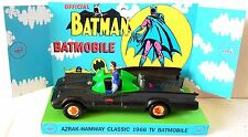 AZRAK-HAMWAY Batman 1966 TV BATMOBILE Model Car on Custom ahi Corgi 267 Display