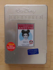 WALT DISNEY TREASURES ANNETTE BRAND NEW 2 DISC DVD SET TIN