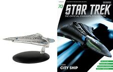 Eaglemoss Diecast STAR TREK ST0070 VOTH CITY SHIP w/MAGAZINE #70