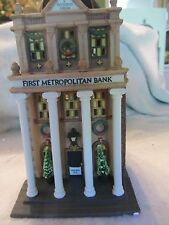 Dept 56 FIRST METROPOLITAN BANK - Christmas in the City  - # 58823  (G116CT)