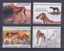 United Arab Emirates – 2002 Arabian Saluki Mnh-Vf – Scott 700-03