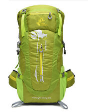 Free Knight 50L Waterproof Nylon Steel Frame Outdoor Hiking Backpack Olive Green