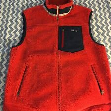 NWOT NEW PATAGONIA RETRO X VEST L LARGE RED