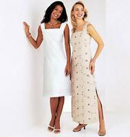 BUTTERICK SEWING PATTERN SEE & SEW MISSES' DRESS SIZES 8 - 24 B3880