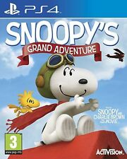 Peanuts Movie SNOOPY'S GRAND ADVENTURE - PS4 - NEW & SEALED - UK RELEASE