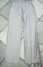 WALLIS IRREDESCENT GOLD/PURPLE HIGH-WAIST TROUSERS, SIZE 10