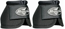 Black Professional's Choice Ballistic No Turn Overreach Bell Boots L Large Prof