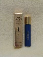 YSL Vinyl Couture Mascara 'I'm the Trouble' Blue .06oz NIB Deluxe Travel Size
