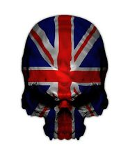 2 Union Jack Skull Decal - Great Britain British Triumph Sticker Decals