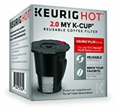 Keurig 119367 2.0 My K-Cup Reusable Coffee Filter Small Black Updated Model