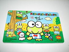 Sanrio Hello Kitty Kero Kero Keroppi Frog Color Colored Pencils Metal Tin Case